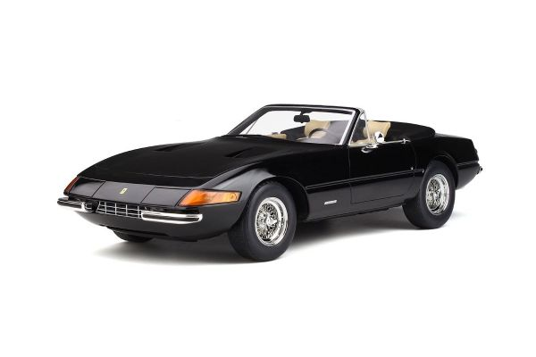 GT SPIRIT 1/12scale Ferrari 365 GTB/4 Spyder (black)  [No.GTS220]