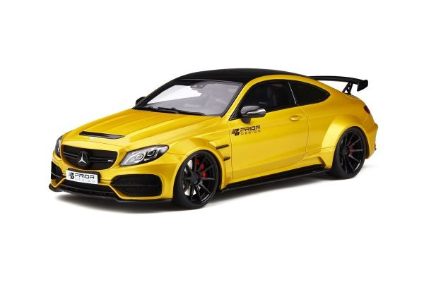GT SPIRIT 1/18scale Prior Design PD65CC C Class 63 AMG Coupe (Yellow)  [No.GTS235]