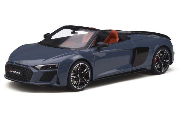 GT SPIRIT 1/18scale Audi R8 Spyder (Gray)  [No.GTS256]