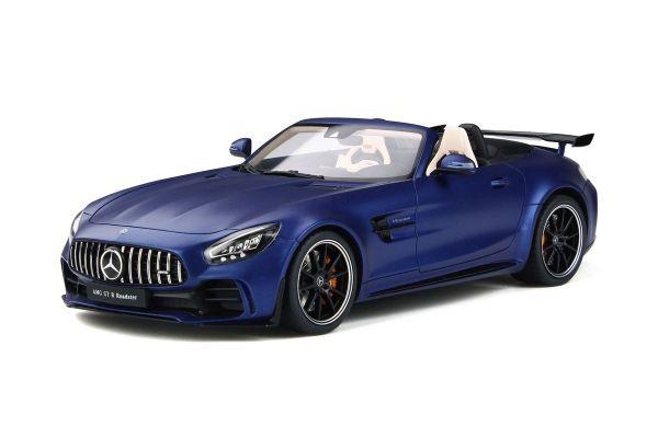 GT SPIRIT 1/18scale Mercedes AMG GTR Roadster (Matte Blue)  [No.GTS259]