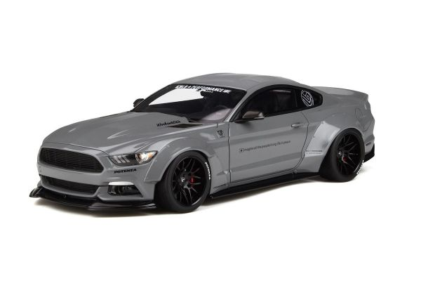 GT SPIRIT 1/18scale Ford Mustang by LB★WORKS (Gray)  [No.GTS264]