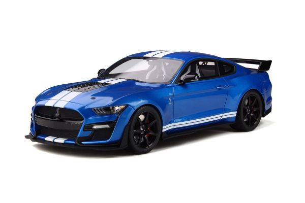 GT SPIRIT 1/18scale Ford Shelby GT500 2020 (Blue / Stripe)  [No.GTS268]