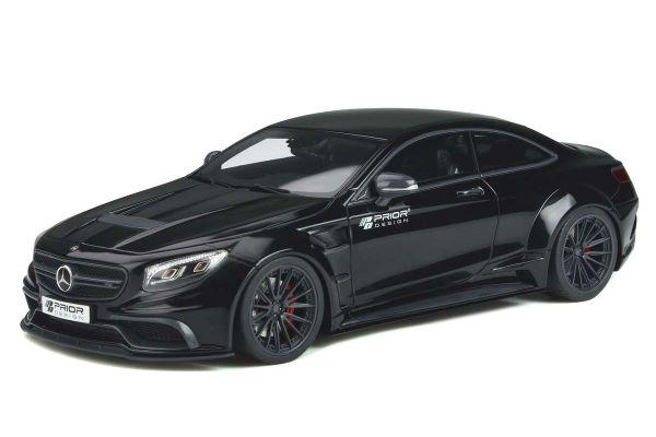 GT SPIRIT 1/18scale Prior Design PD75SC (S Class Coupe) (Black)  [No.GTS297]