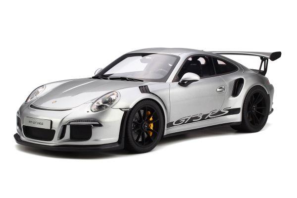 GT SPIRIT 1/12scale Porsche 911 GT 3 RS (silver)  [No.GTS705]