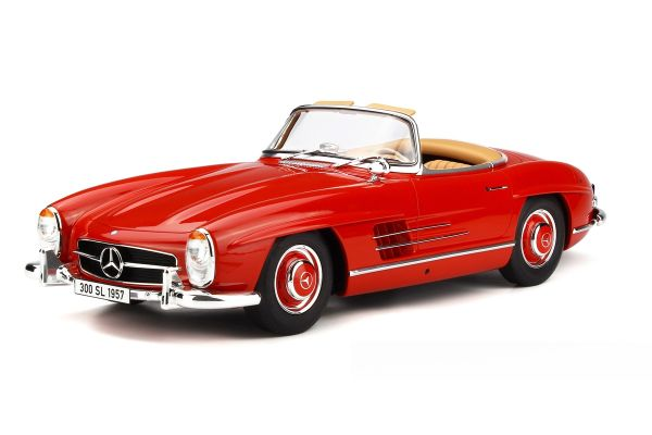 GT SPIRIT 1/12scale Mercedes Benz 300SL Roadster (Red) [No.GTS717]