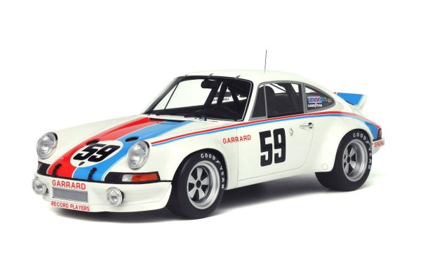 GT SPIRIT 1/18scale Porsche 911 Carrera RSR Winner Daytona 1973 White [No.GTS728]