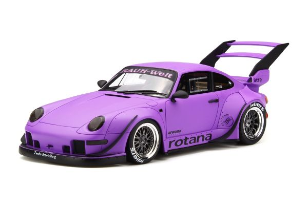 GT SPIRIT 1/18scale RWB 993 Rotana Matt Purple [No.GTS737]