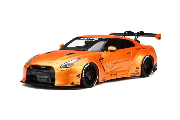 GT SPIRIT 1/18scale LB ☆ Works GT-R R35 Orange [No.GTS742]
