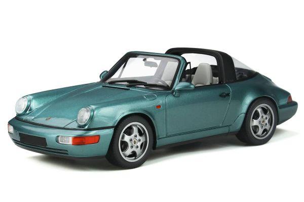 GT SPIRIT 1/18scale Porsche 911 (964) Carrera 4 Targa (Turquoise)  [No.GTS805]