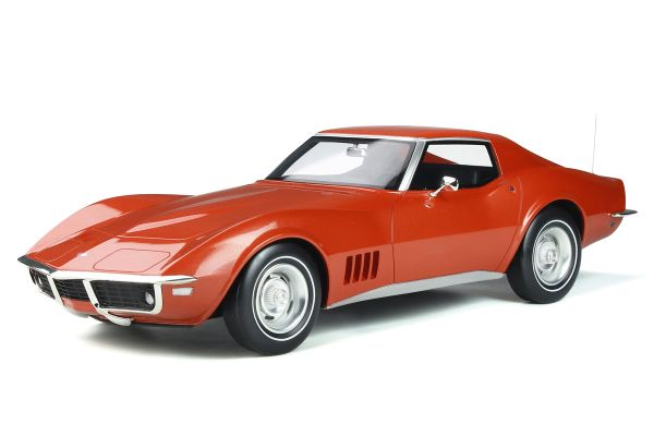 GT SPIRIT 1/12scale Chevrolet Corvette C3 (Bronze)  [No.GTS811]