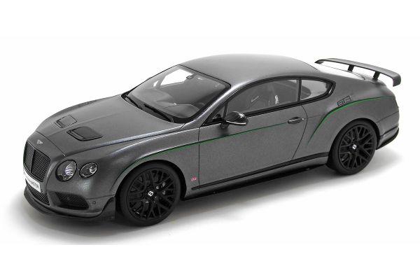 GT SPIRIT 1/18scale Bentley Continental GT3-R Matt Gray  [No.GTS003KJ]