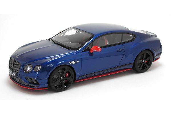 GT SPIRIT 1/18scale Bentley Continental GT Speed Black Edition Blue  [No.GTS006KJ]
