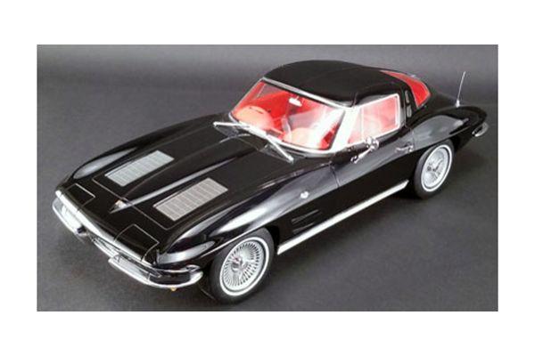 GT SPIRIT 1/12scale Chevrolet Corvette 1963 (Black) US Exclusive  [No.GTS010US]