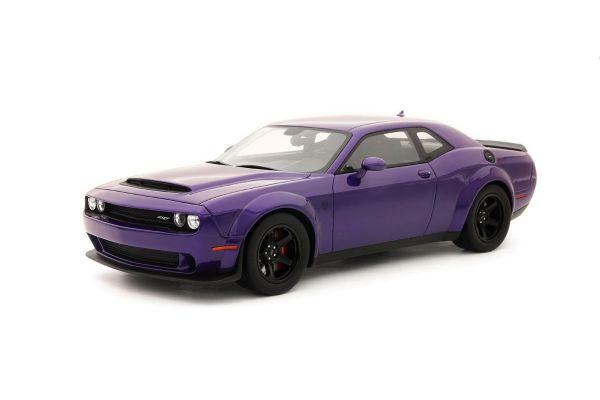 GT SPIRIT 1/18scale Dodge Challenger SRT Demon (Purple)  [No.GTS014US]
