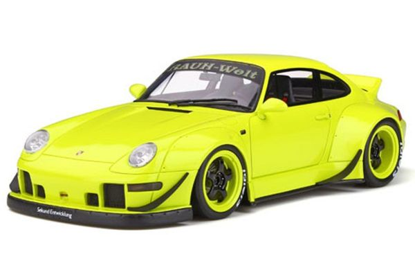 GT SPIRIT 1/18scale RWB 993 Duck Tail (Neon yellow)  [No.GTS026KJ]