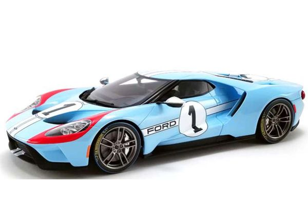 GT SPIRIT 1/18scale 2020 Ford GT # 1 Heritage Edition (Blue)  [No.GTS027US]
