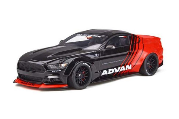 GT SPIRIT 1/18scale Ford Mustang by LB★WORKS (Black / Red) Asia Exclusive  [No.GTS035KJ]