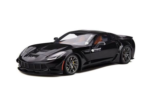 GT SPIRIT 1/18scale Prior Design Corvette C7 (Black)  [No.GTS249]