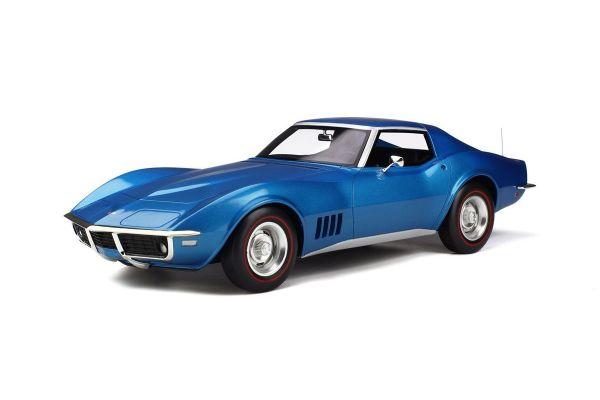 GT SPIRIT 1/12scale Chevrolet Corvette C3 (Blue)  [No.GTS255]
