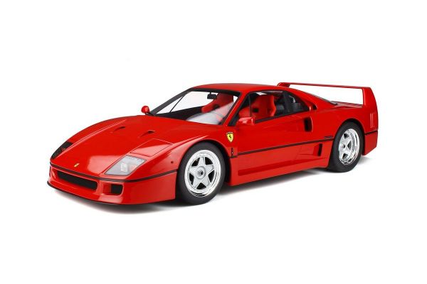 GT SPIRIT 1/8scale Ferrari F40 (Red) with Case & Base  [No.GTS80021]