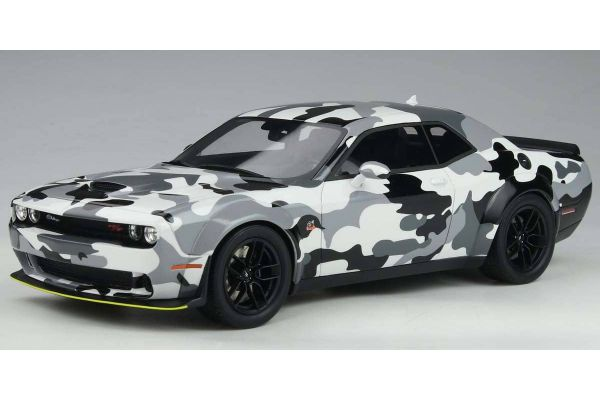 GT SPIRIT 1/18scale Dodge Challenger R / T Scat Pack Wide Body (Camouflage) Overseas Exclusive  [No.GTS831C]