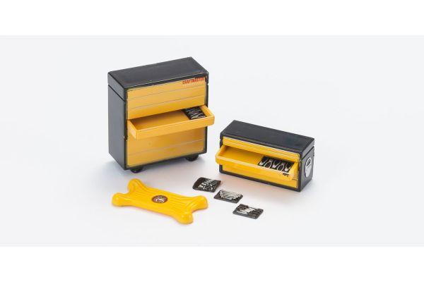 HOBBY GEAR 1/24scale Mechanic 1 (Tool Shelf + Tool)  [No.HB16051]