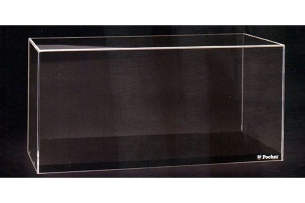 Pocher 1/4scale Acrylic case & Display base (With Pocher logo)  [No.HK201]