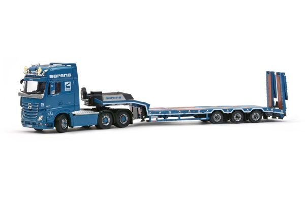 IMC Models 1/50scale Sarens Mercedes-Benz Actros 2 Giga space 6×4 Euroflex 3axle semi low loader  [No.IMC201036]