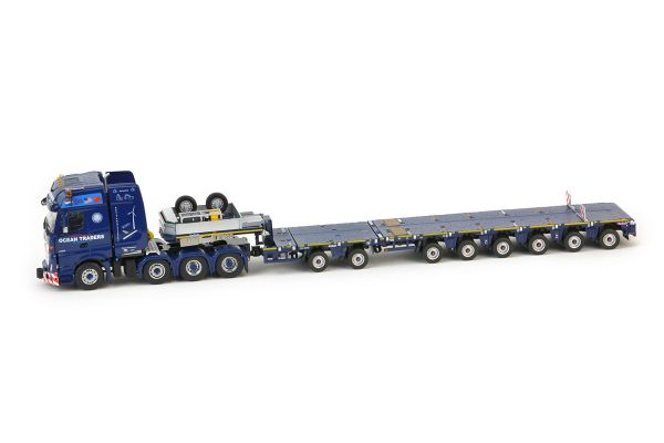 IMC Models 1/50scale Mercedes-Benz Actros 6×4 Nooteboom MCO-P 2 + 6 axle  [No.IMC310016]