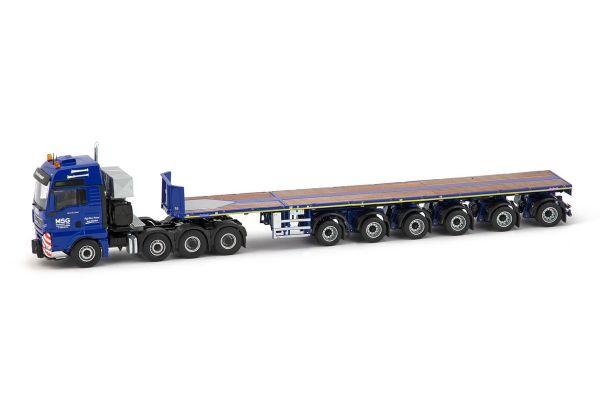 IMC Models 1/50scale MSG MAN TGX 8x4 with 6 axle Nooteboom Ballasttrailer  [No.IMC310027]