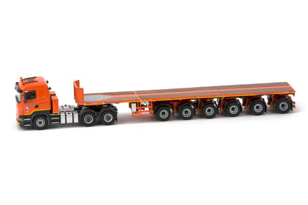 IMC Models 1/50scale Scania R5 low line 6×4 & Nooteboom 6 axle ballast trailer