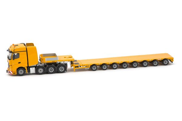 IMC Models 1/50scale Yellow Series Mercedes Actros BigSpace 8x4 with Nooteboom MCO121-08V  [No.IMC330091]
