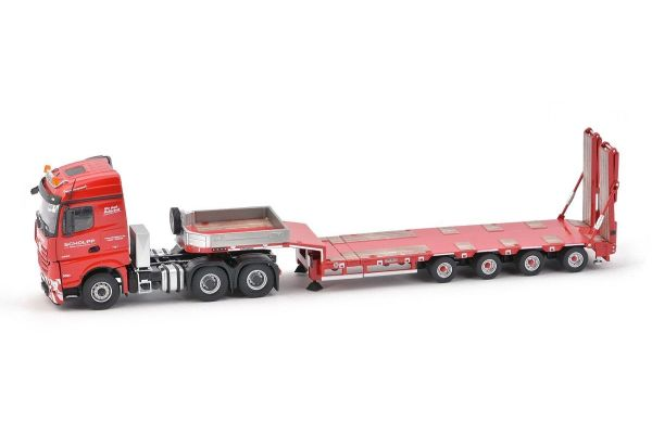 IMC Models 1/50scale Mercedes Benz Arocs Stream Space Goldhofer 4Axle Semi Low Loader