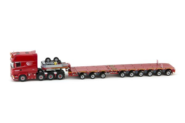 IMC Models 1/50scale Scania R6 Long Line 8×4 & Nooteboom MCO-PX 3 + 6 axle  [No.IMC5386908]