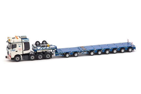 IMC Models 1/50scale Mercedes Benz Arocs Big Space 8× 4 & Nooteboom MCO-PX 2 + 6 axle