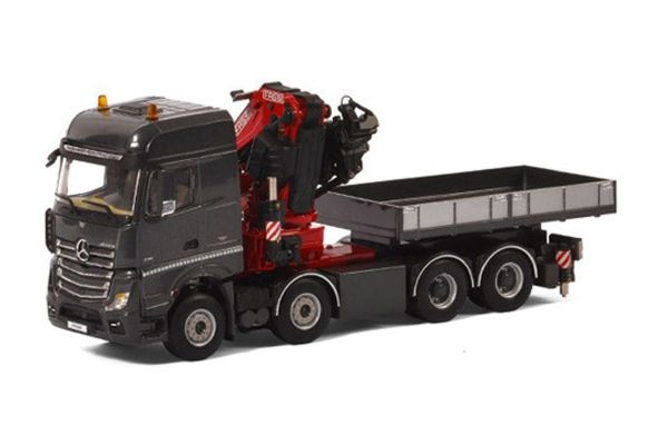 IMC Models 1/50scale Mercedes-Benz Actros MP4 Big Space 8 × 4 Fassi F1100RA Crane & Ballast Box w/Truck  [No.IMCF-5]
