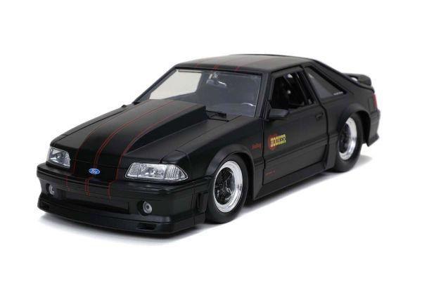 JADA TOYS 1/24scale 1989 Ford Mustang GT Black  [No.JADA30304]