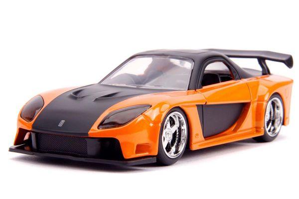 JADA TOYS 1/32scale F&F Han's Mazda RX-7 Orange  [No.JADA30736]