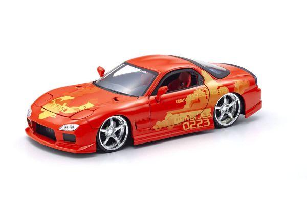JADA TOYS 1/24scale F & F Mazda RX-7 (Orange) Orange Julius  [No.JADA30747]