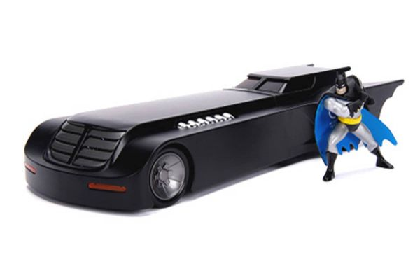 JADA TOYS 1/24scale Batmobile (Anime Series) with Batman figure  [No.JADA30916]