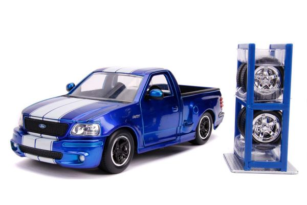 JADA TOYS 1/24scale 1999 Ford F-150 SVT Lightning (Candy Blue)  [No.JADA31567]