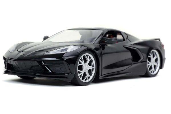 JADA TOYS 1/24scale 2020 Chevy Corvette Stingray Glossy Black  [No.JADA32284]