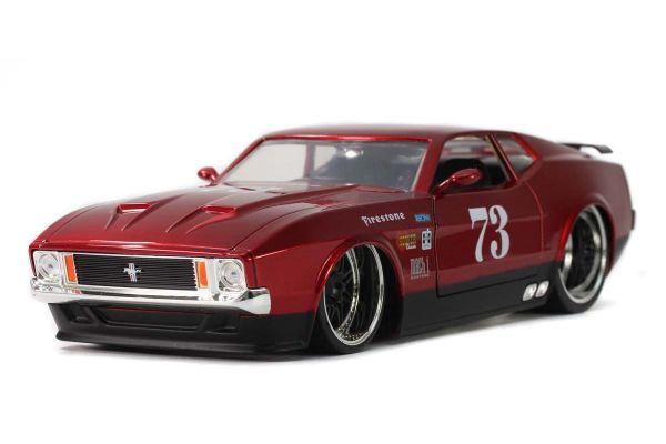 JADA TOYS 1/24scale 1973 Ford Mustang Mach 1 # 73 Metallic Red  [No.JADA32301]