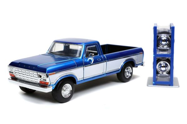 JADA TOYS 1/24scale 1979 Ford F-150 Blue / White  [No.JADA32309]