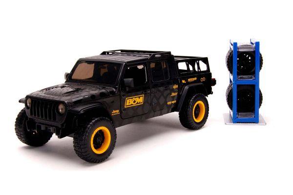 JADA TOYS 1/24scale 2020 Jeep Gladiator Black / B & M Logo / Graphics  [No.JADA32423]