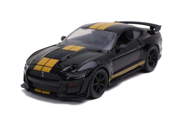 JADA TOYS 1/24scale 2020 Ford Mustang Shelby GT500 Glossy Black / Gold Line  [No.JADA32661]