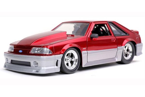 JADA TOYS 1/24scale 1989 Ford Mustang GT Candy Red  [No.JADA32666]