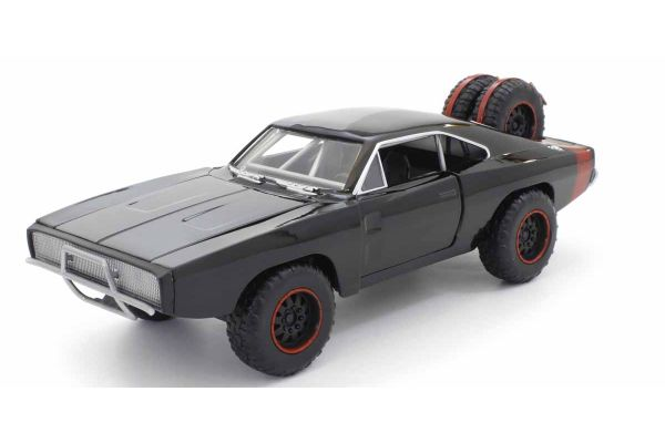 JADA TOYS 1/24scale F & F Dodge Charger R / T Off-Road Black (Dominique)  [No.JADA97038]