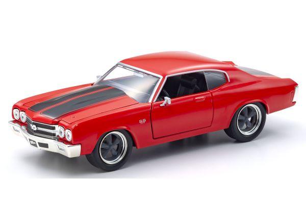 JADA TOYS 1/24scale F & F Chevy Chevelle SS (Red) Dominic Toretto  [No.JADA97193]