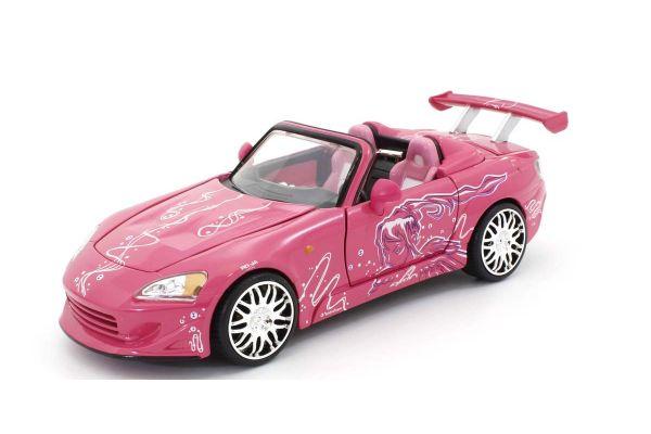 JADA TOYS 1/24scale F & F Honda S2000 Pink / Graphics (Sookie)  [No.JADA97604]
